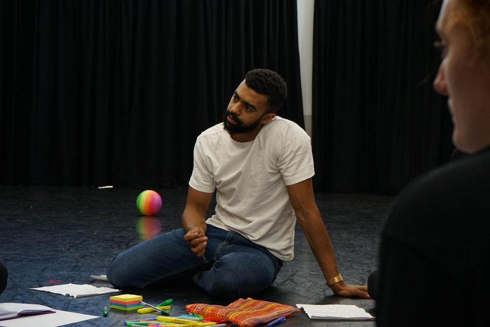 Zane Burkmar, Spoken Word artist with The Knotted Project Training Company