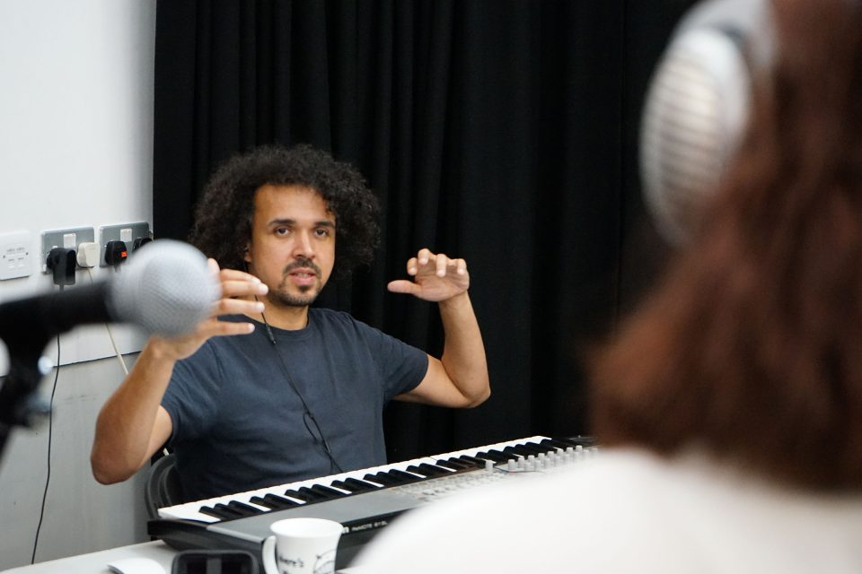 Lee Affen, Musician and Composer with The Knotted Project Training Company
